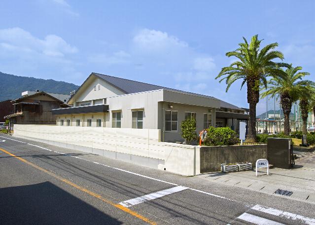 広島県立三原高校武道場