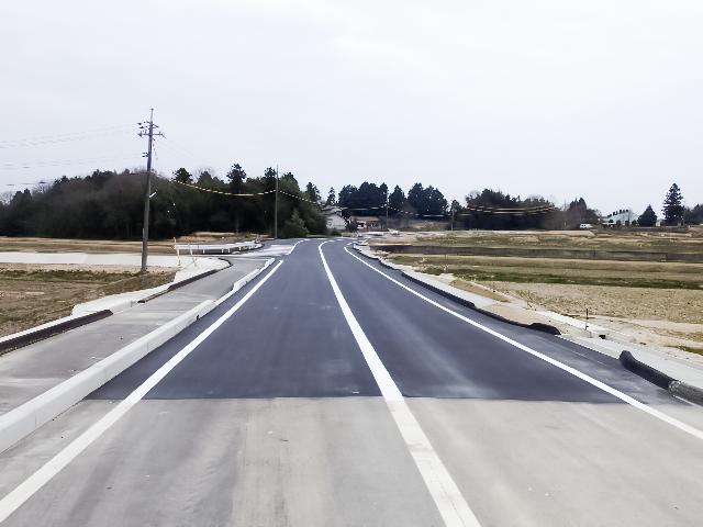 市道久井町野間線道路改良工事